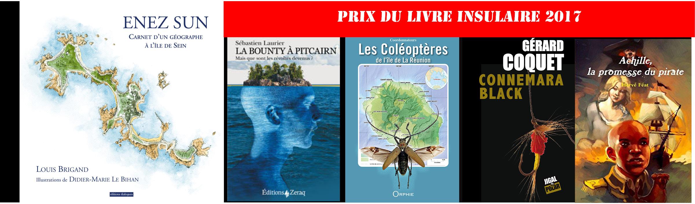Palmarès du Prix du Livre Insulaire 2017