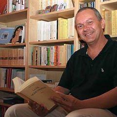 Thierry Bodin-Hulin, poète en dédicace # Ouessant