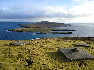 «Une si longue attente». Ecosse Shetland.
